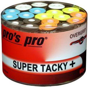 Banda antideslizante para raqueta Pros Pro Super Tacky