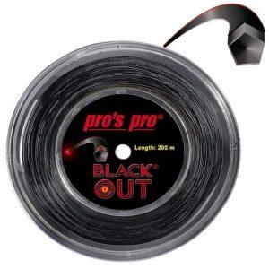 Cordaje de tenis Pro's Pro Blackout