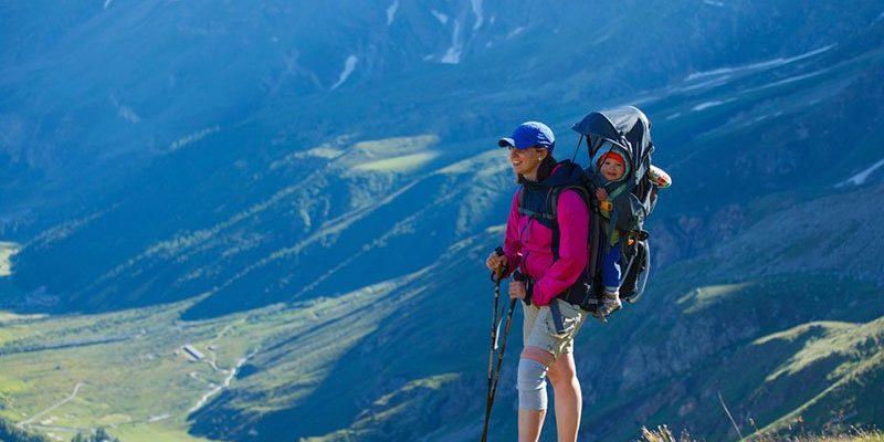 Las 5 mejores mochilas portabebes de montaña
