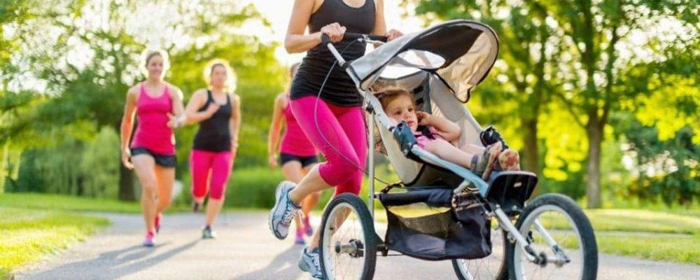 Los 5 mejores cochecitos de bebé running