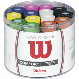 Overgrip color multicolor Wilson Bowl